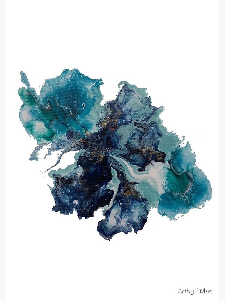 Abstractions in Blue #9 by ArtbyFiMac