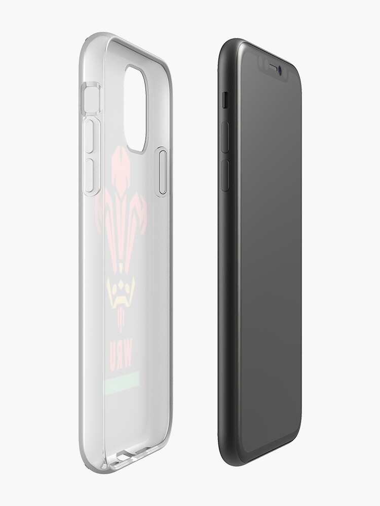 Alternate view of Wales rugby iPhone Case & Cover