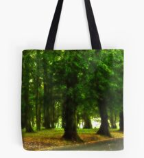 I would rather be with trees Tote Bag