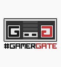 #GamerGate NES Controller Logo Photographic Print