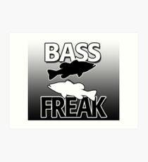 Bass Freak - Art/Calendar Art Print
