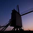 The windmills of France by ChrisSinn