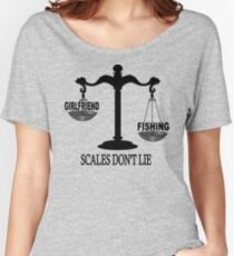 Scales Don't Lie... Women's Relaxed Fit T-Shirt