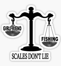 Scales Don't Lie... Sticker