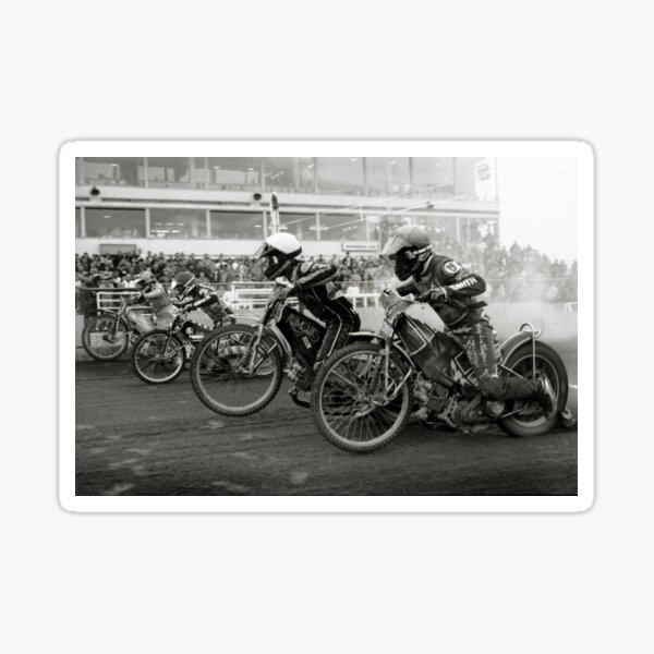 Speedway - Accelerating away Sticker