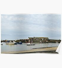 Lyme Harbour Today Poster