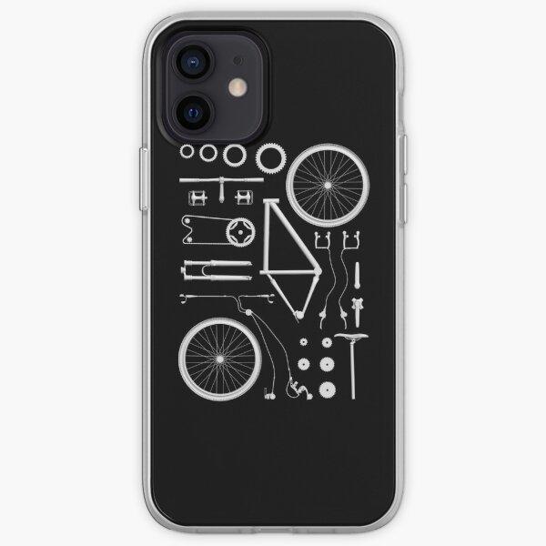 Bike Exploded iPhone Soft Case
