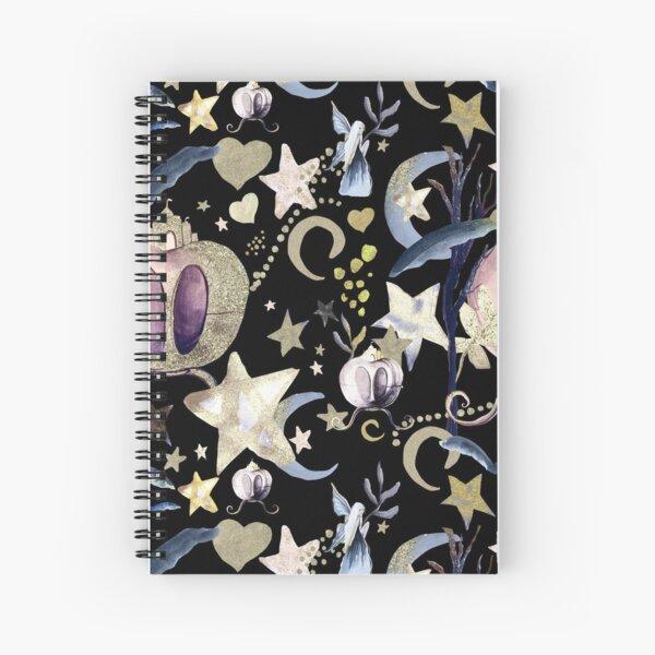Fairy Rides Spiral Notebook