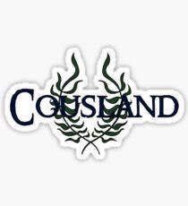 Cousland Heraldry Sticker