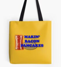 Adventure Time-Makin' Bacon Pancakes Tote Bag