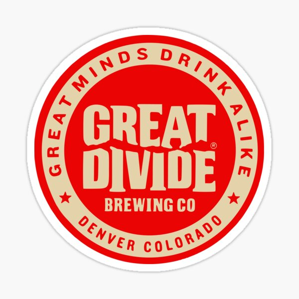 Great Divide Brewing Co Logo Sticker