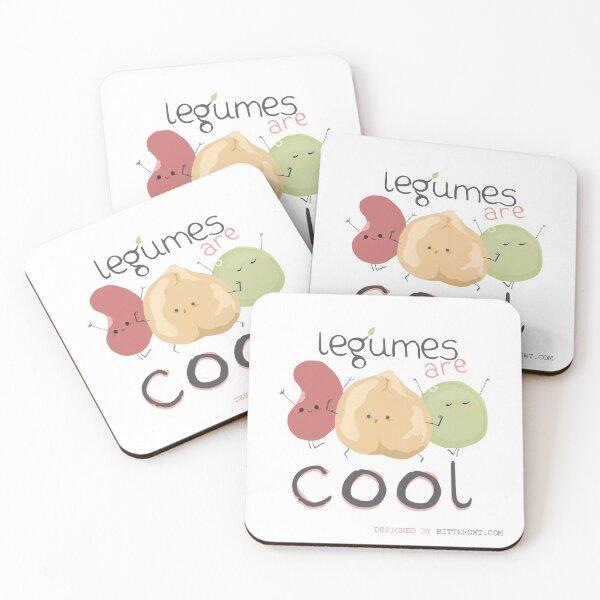Legumes are cool Posavasos (lote de 4)