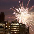 Fireworks over London by Dean Messenger