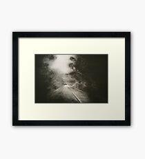 Night Driving Framed Print