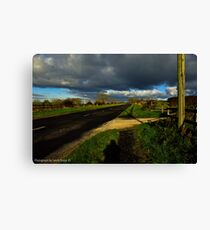 The Road to Brown's Bay. Canvas Print