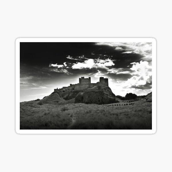 Bamburgh Castle in Northumberland, UK Sticker