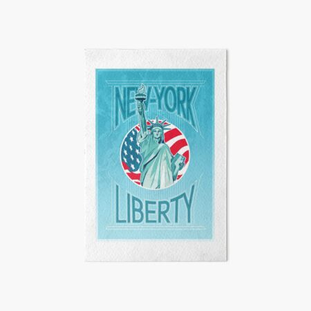 statue of liberty Art Board Print