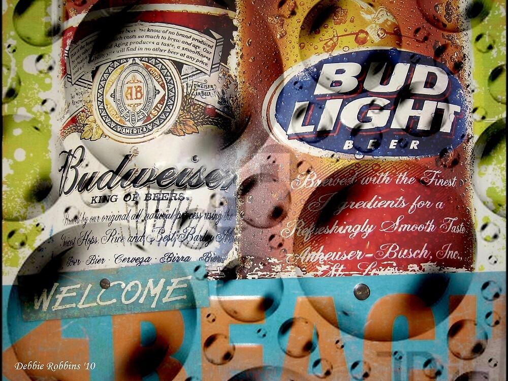 Bubbly Budweiser by Debbie Robbins