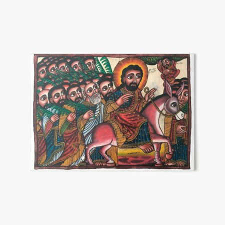 Hosanna   Ethiopian Icon of the Entry into Jerusalem Art Board Print