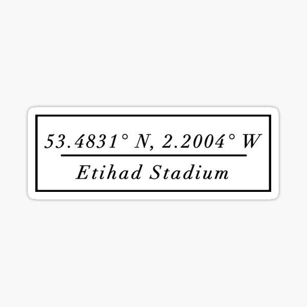 Etihad Stadium Sticker