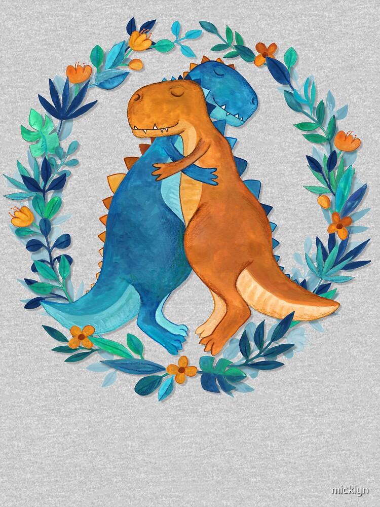 Dino Hugs by micklyn