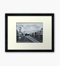Gray Afternoon Framed Print