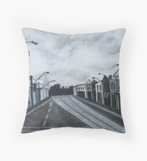 Gray Afternoon Throw Pillow