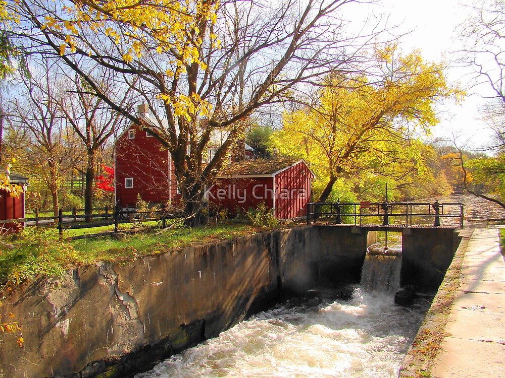 Griggstown Spillway, Somerset County, NJ by Kelly Chiara