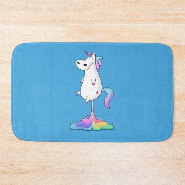 Unicorn Fart Bath Mat