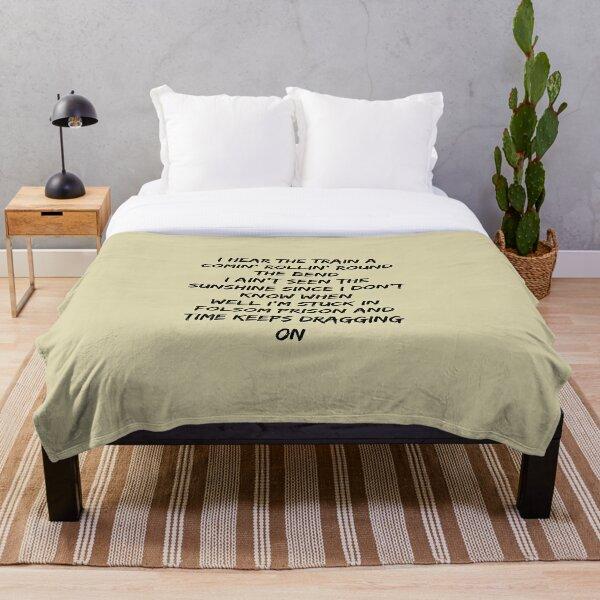 Folsom Prison Blues Throw Blanket