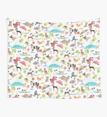 Doggie Days Wall Tapestry