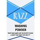 Razz Washing Powder by Adam Taylor