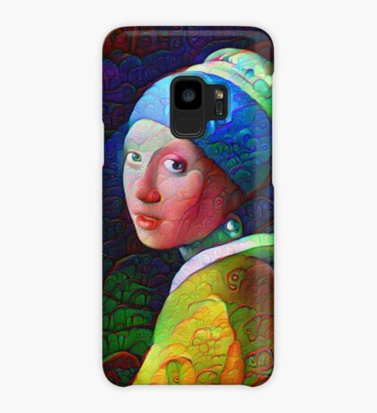 "DeepDreamed ""Girl with a Pearl Earring"" Case/Skin for Samsung Galaxy"