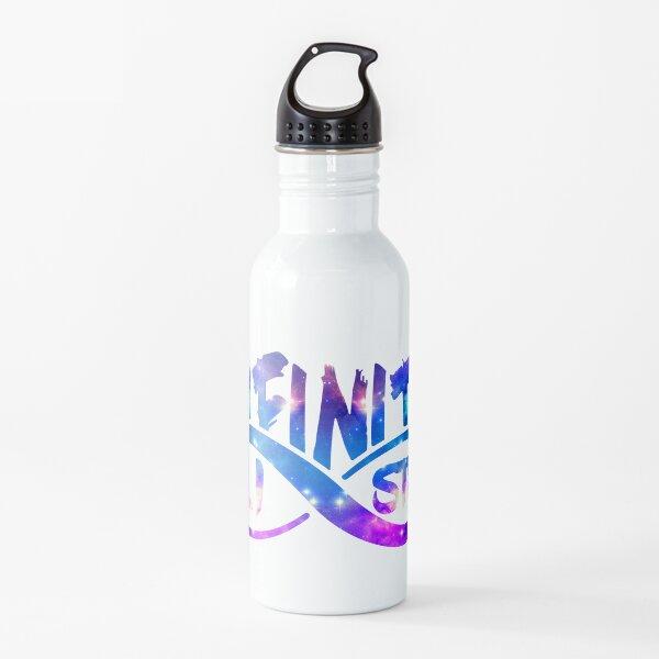 Logotipo de Galaxy de Listas Infinitas Botella de agua