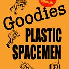 Goodie's Plastic Spacemen. by Adam Taylor