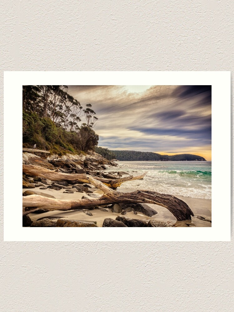 Alternate view of Fortescue Bay Art Print