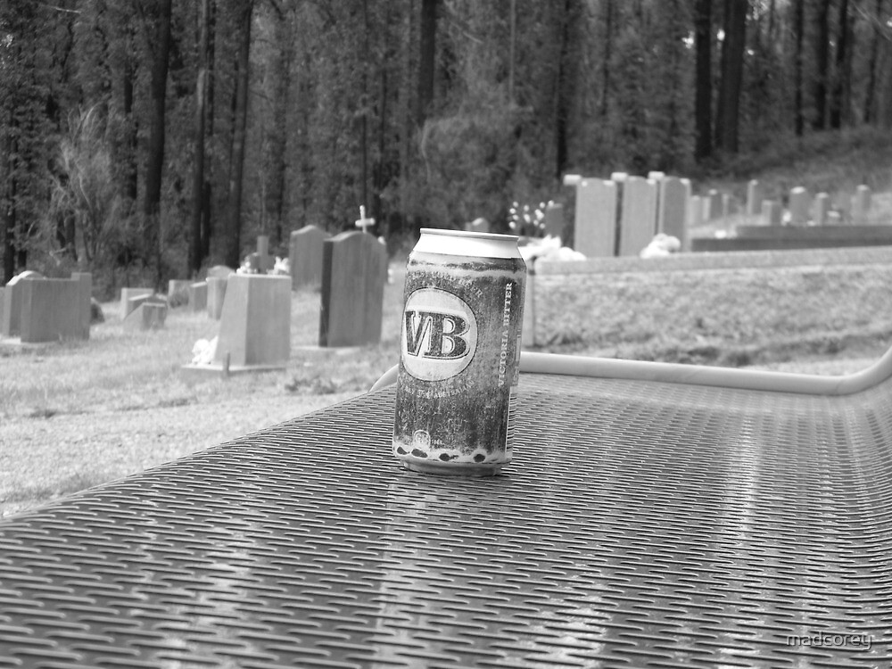Beer for an old friend  by madcorey