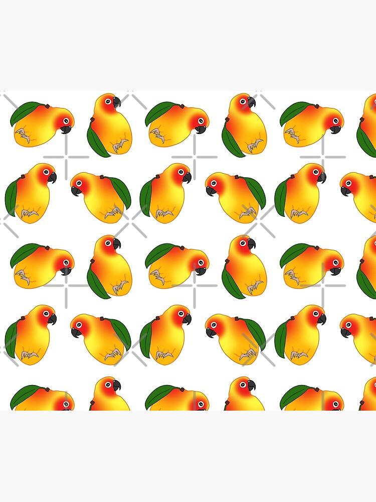 funny mango sun conure doodle by FandomizedRose
