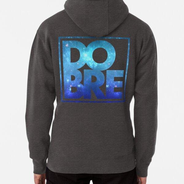 DOBRE Blue Galaxy Logo Pullover Hoodie