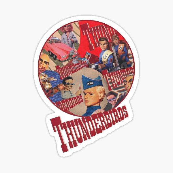 Thunderbirds characters Sticker