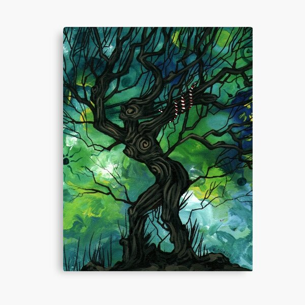Tree of Life Series — The Serpent Canvas Print