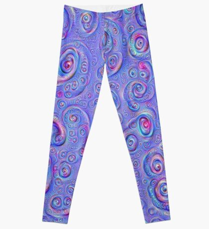DeepDream Blue Full 4K Leggings