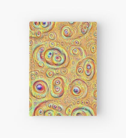 DeepDream Yellow Full 4K Hardcover Journal