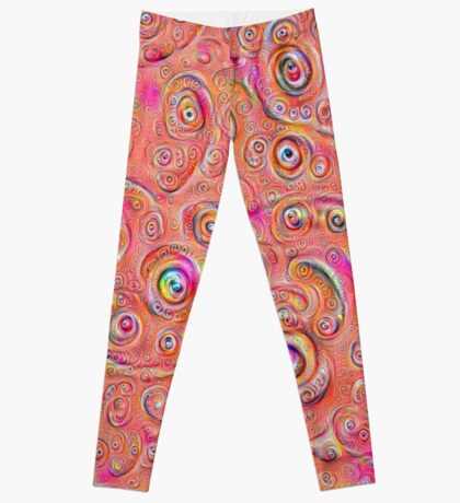DeepDream Red Full 4K Leggings