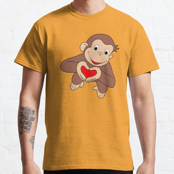Curious George Is All Heart Classic T-Shirt