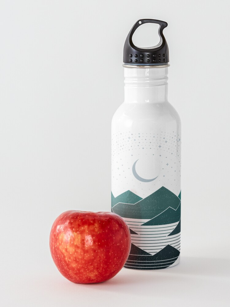 Alternate view of Between The Mountains And The Stars Water Bottle