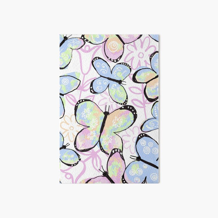 Dreamy Butterfly Flutter Art Board Print