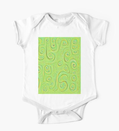 Deep Dreaming of a Green World 4K Kids Clothes
