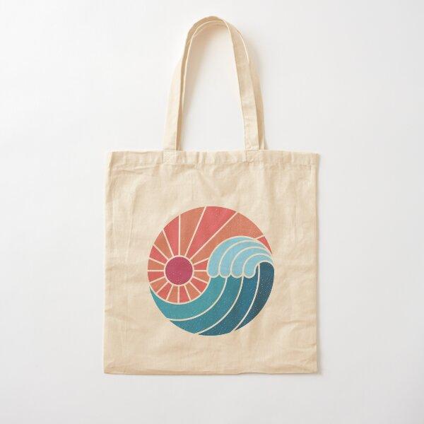 Sun & Sea Cotton Tote Bag