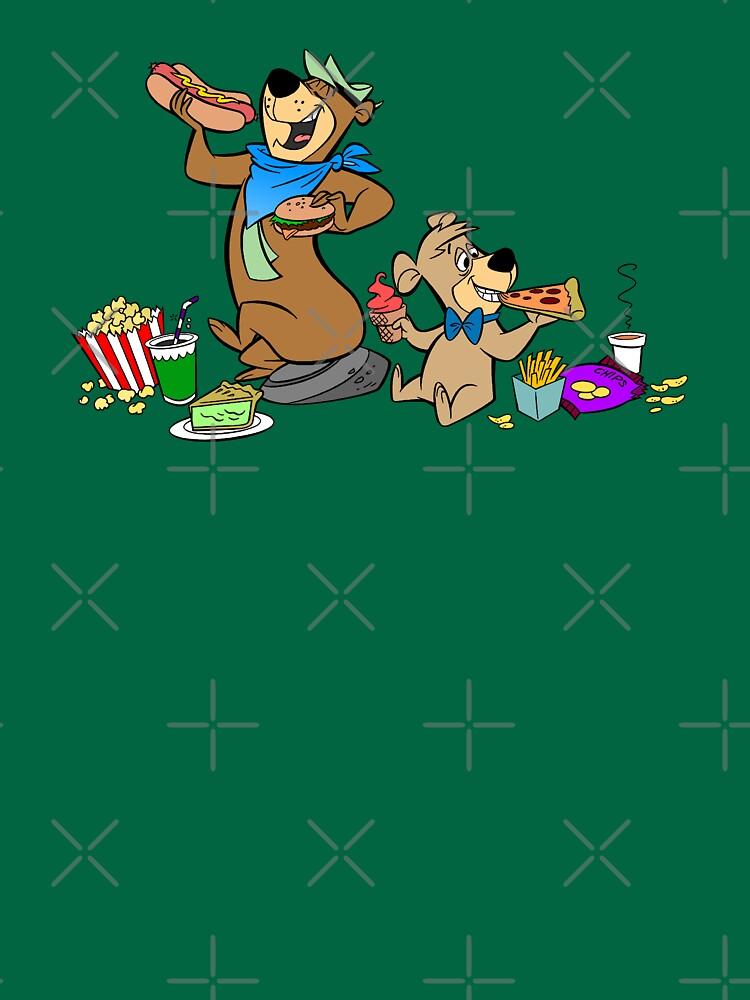Yogi & Boo-Boo Pic-a-Nic Feast by Pop-Pop-P-Pow